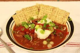 Smoked Chili - Smoking chili Meat